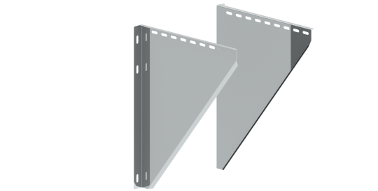 Konsolbleche, verstellbar von 250 - 360 mm - Jeremias doppelwandig