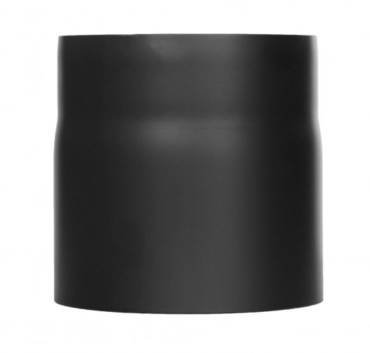 Ofenrohr - Längenelement 150 mm schwarz - Jeremias Ferro-Lux