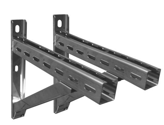 Wandstützen & Querträger, Typ IV, 1030 mm für Jeremias DW-Systeme