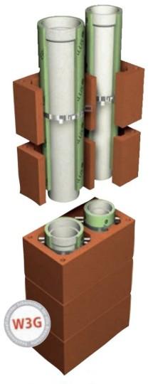 LAF-Premiumschornstein L - Durchmesser 160/140 mm