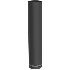 Pelletofenrohr - Längenelement 500 mm - schwarz lackiert - Jeremias Pellet-Line