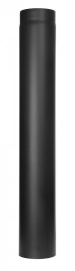 Ofenrohr - Längenelement 1000 mm schwarz - Jeremias Ferro-Lux