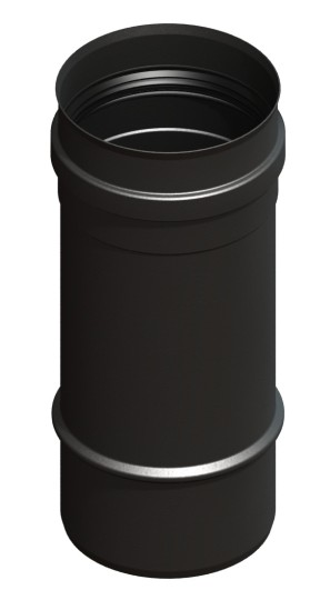 Längenelement 250 mm, schwarz lackiert