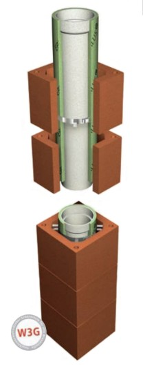 LAF-Premiumschornstein L - Durchmesser 140 mm