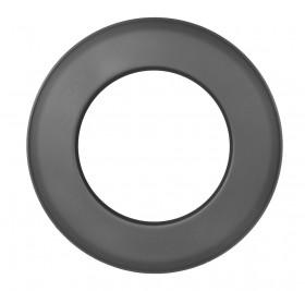 Ofenrohr - Wandrosette 55 mm schwarz - Jeremias Ferro-Lux