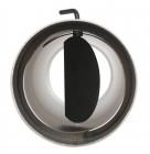 Ofenrohr FERRO1451 - Längenelement 500 mm schwarz mit Drosselklappe