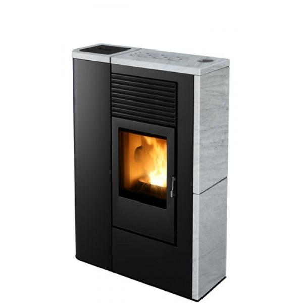 pelletofen mcz flair comfort air 8kw schornstein fachhandel. Black Bedroom Furniture Sets. Home Design Ideas