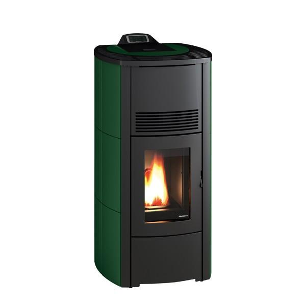 pelletofen palazzetti ecofire cristina idro 13kw. Black Bedroom Furniture Sets. Home Design Ideas