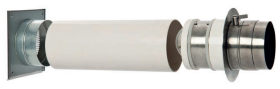 Handbetätigte Doppelklappe LKH für Zuluftversorgung - CB-tec