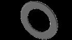 Ofenrohr FERRO1422 - Wandrosette 55 mm schwarz