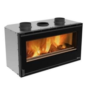 Kamineinsatz La Nordica Inserto 100 Crystal - Ventilato 9,5 kW
