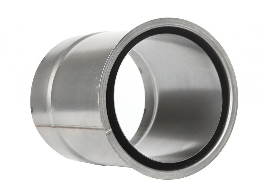 Ofenrohr FERRO0414 - Wandfutter doppelt 200 mm