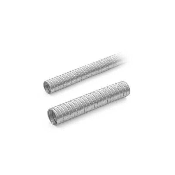 MCZ Aluminium Warmluftkanal, Ø 60mm, 8m Länge
