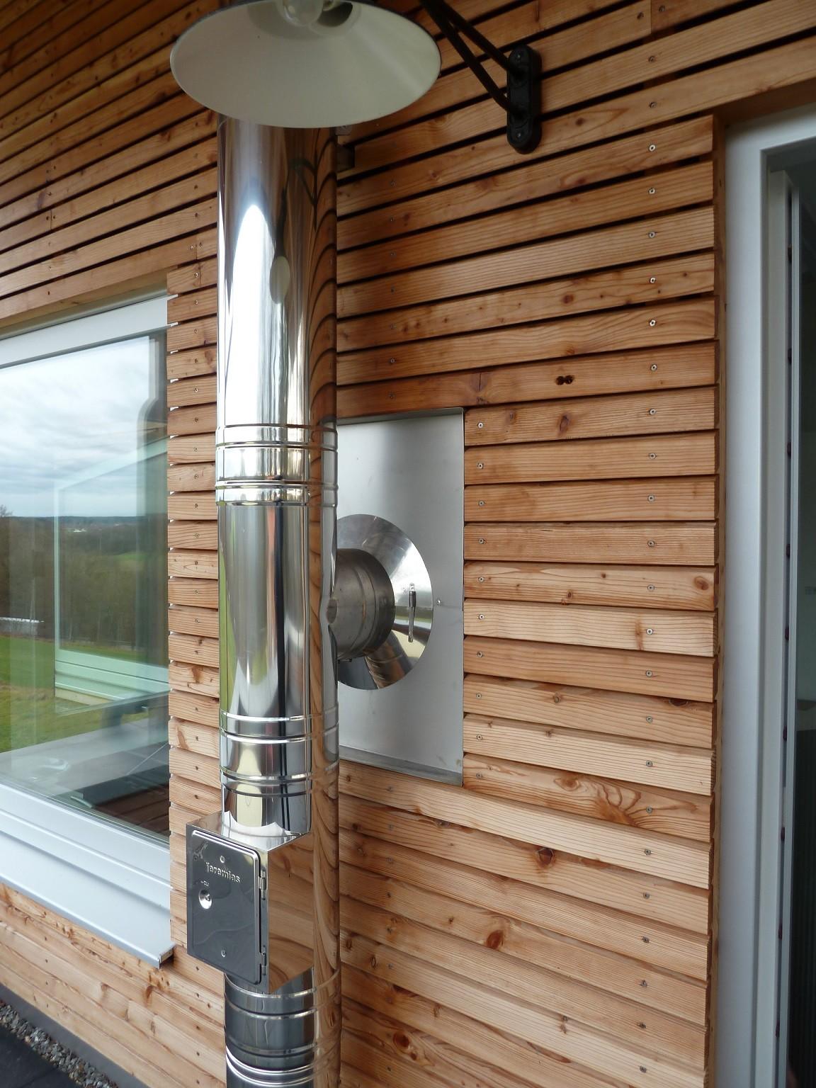 edelstahlschornstein bausatz 130 mm dw silver. Black Bedroom Furniture Sets. Home Design Ideas
