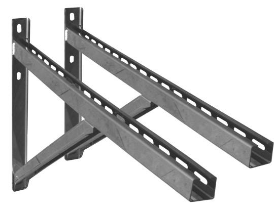 Wandstützen & Querträger, Typ III, 750 mm für Jeremias DW-Systeme