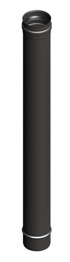 Längenelement 1000 mm, schwarz lackiert