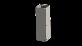 Leichtbauschornstein - Schachtelement 1000 mm - Jeremias FURADO-F