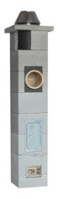Keramikschornstein NIKO UNI - Ø 160 mm