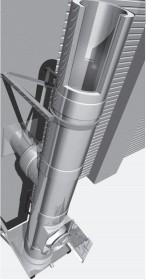 Edelstahlschornstein Bausatz Ø 150 mm - doppelwandig - Raab DW-Alkon