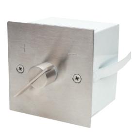 Lufklappengriff quadratisch - Ø 85x85mm Aufputz - CB-tec