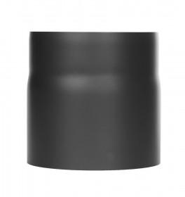 Ofenrohr - Längenelement 150 mm mit Kondensatring schwarz - Jeremias Ferro-Lux