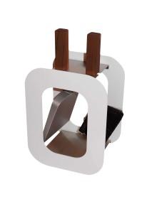 Kaminzubehör - Kaminbesteck Cube, 2-teilig, - Lienbacher