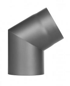 Ofenrohr - Winkel 60° ohne Tür gussgrau - Jeremias Ferro-Lux