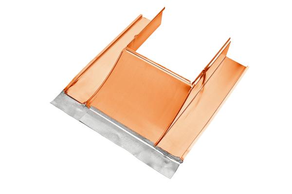 Kupfer Kaminverwahrung Unterteil Größe, 32-55 - Grömo