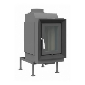 Heizeinsatz Brunner HKD 6.1 Drehtür Flachglas 9 kW