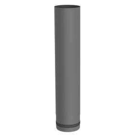 Pelletofenrohr - Längenelement 500 mm - gussgrau lackiert - Jeremias Pellet-Line
