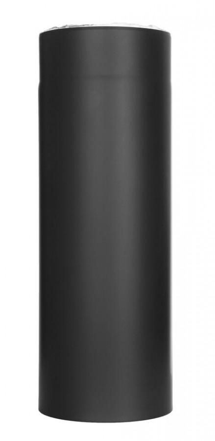 Ofenrohr 15-ISO014 - Längenelement 500 mm schwarz
