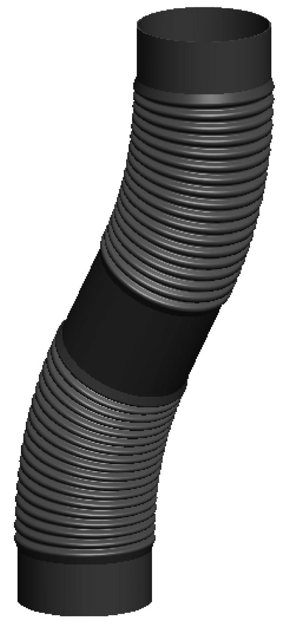 flexrohr 100 mm kunststoff gd98 kyushucon. Black Bedroom Furniture Sets. Home Design Ideas