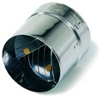 Thermische Abgasklappe HOS 60 / HOS 70 / HOS 80 / HOS 90 / HOS 100 / HOS 110 - Kutzner & Weber