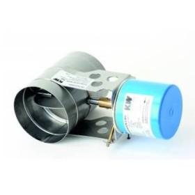 Motorische Abgasklappe MOK AD STA 2 (S3) 230V von Kutzner & Weber