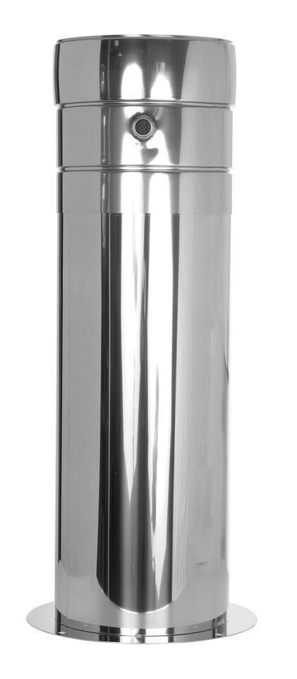 LÜFTUNGSGITTER Blende rund weiss braun silber Lüftung Abzug für Rohre Ø 125 mm