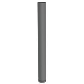 Pelletofenrohr - Längenelement 1000 mm - gussgrau lackiert - Jeremias Pellet-Line
