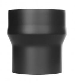 Ofenrohr - Erweiterung lackiert schwarz - Jeremias Ferro-Lux