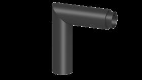 Ofenrohr - Knieelement 90° doppelwandig mit HT Isolierung - Jeremias Ferro-Lux