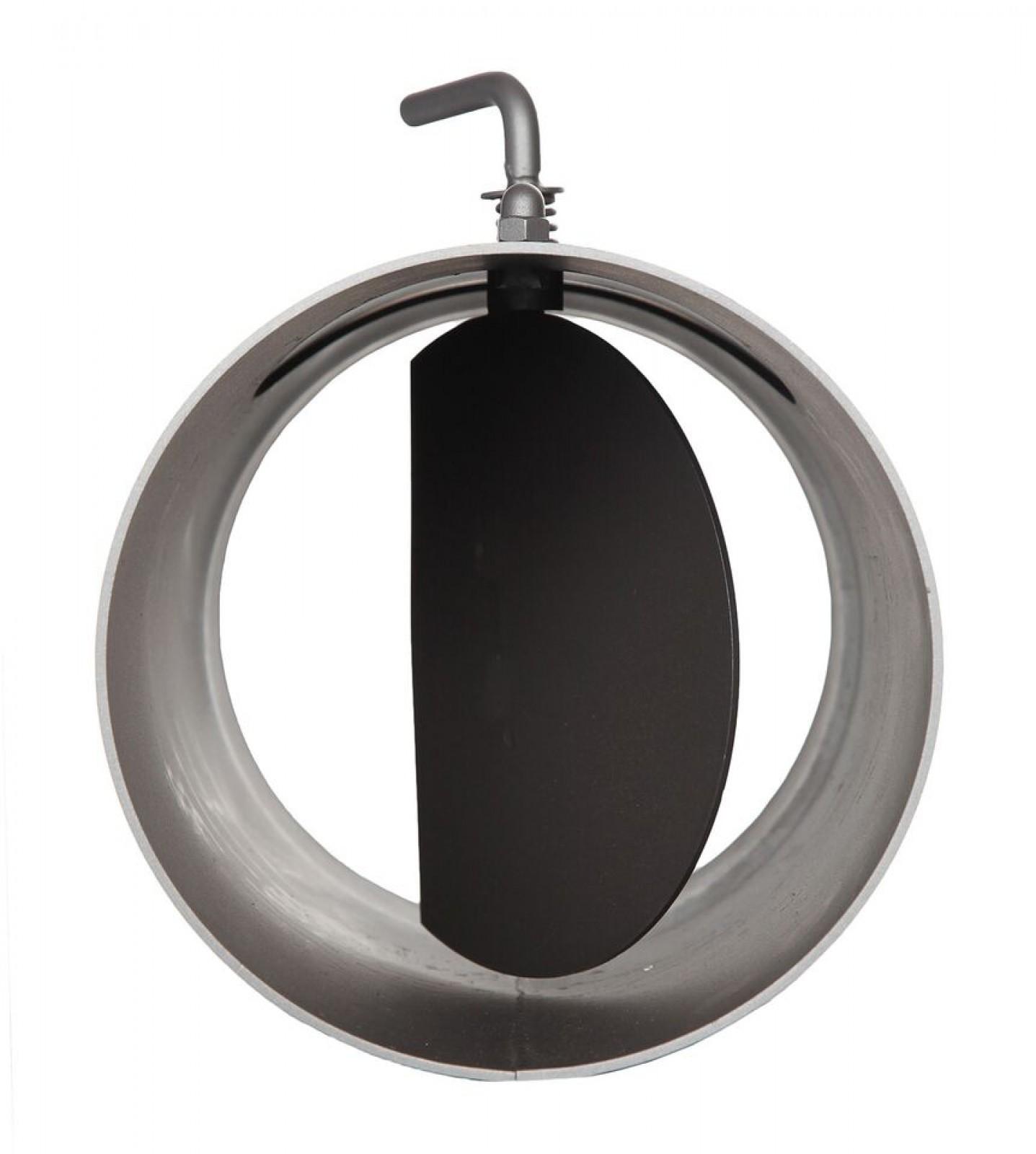 l ngenelement 300 mm drosselklappe und t r schornstein fachhandel. Black Bedroom Furniture Sets. Home Design Ideas