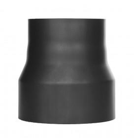 Ofenrohr - Reduzierung lackiert schwarz - Jeremias Ferro-Lux