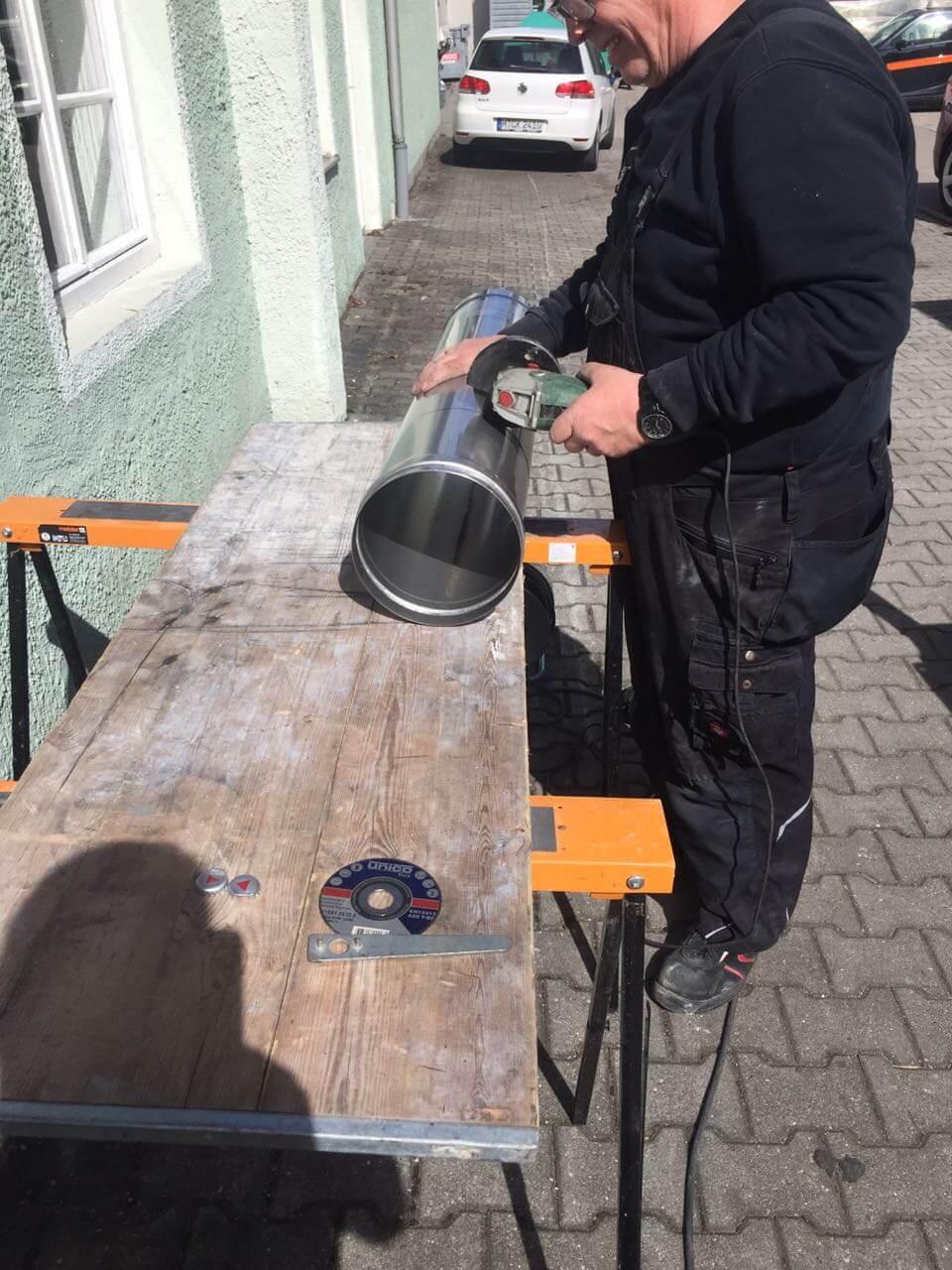Sehr Schornsteinsanierung in fünf Schritten- Eine kleine Anleitung EQ48