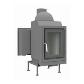 Heizeinsatz Brunner HKD 5.1 Drehtür Flachglas DHT M, 10 kW