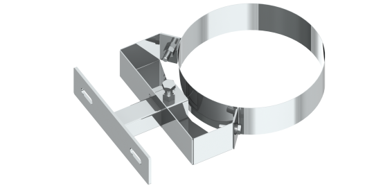 Wandabstandshalter 50 - 150 mm - konzentrisch für Jeremias TWIN