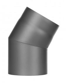 Ofenrohr - Winkel 30° ohne Tür gussgrau - Jeremias Ferro-Lux