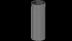 Ofenrohr - doppelwandig - Längenelement 500 mm gussgrau - Jeremias Iso-Line