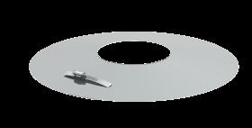 Wandrosette für Jeremias TWIN-Systeme