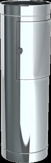 Einwurfschacht mit Design Türe Höhe 980 mm - Jeremias Wäscheabwurfschacht