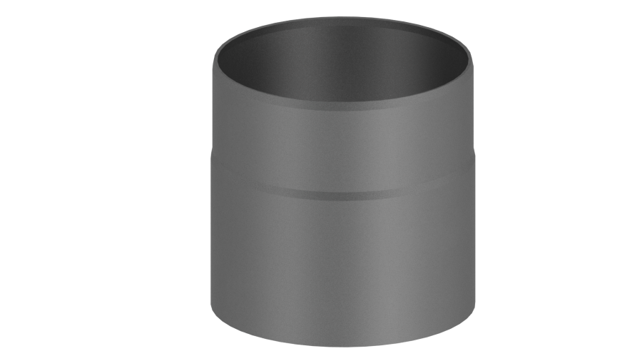 ofenrohr doppelwandig 150 mm gussgrau schornstein fachhandel