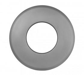 Ofenrohr - Wandrosette groß 85 mm gussgrau - Jeremias Ferro-Lux