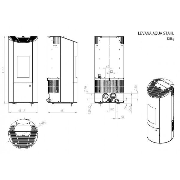 pelletofen olsberg levana aqua 8kw wasserf hrend raumluftunabh ngig schornstein fachhandel. Black Bedroom Furniture Sets. Home Design Ideas